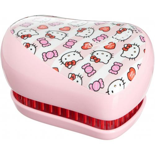Tangle Teezer Kompaktní kartáč Hello Kity Candy Stripes