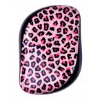 Růžový leopardí kompaktní kartáč