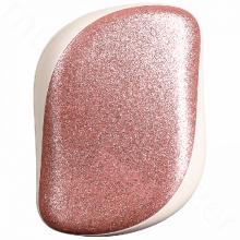 Třpytivě růžový kompaktní kartáč
