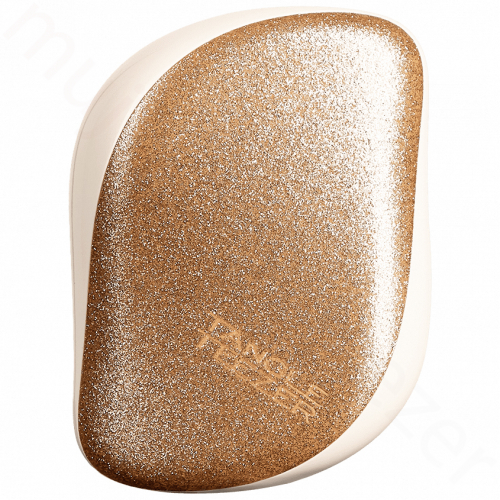 Tangle Teezer Třpytivě zlatý kompaktní kartáč