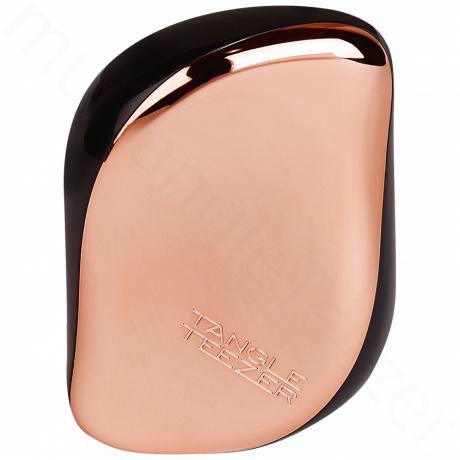 Zlato-růžový kompaktní kartáč