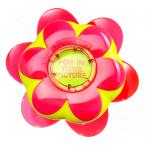 Nový žlutý kartáč v růžovém květináčku